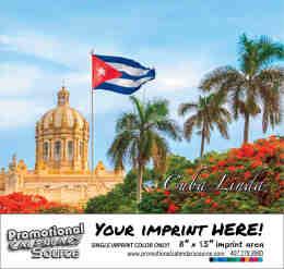 Scenic Cuba Calendar - Calendario Escenico de Cuba - Bilingual Spanish/English