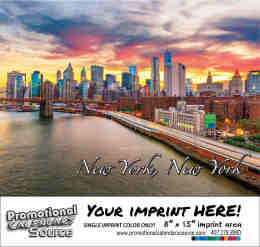 New York Bilingual Spanish/English Promotional Calendar of