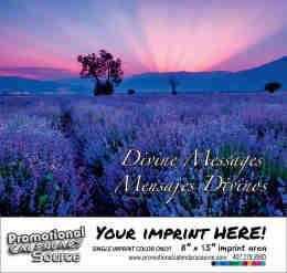 Divine Messages Religious Calendar -Mensajes Divinos  Bilingual Calendar