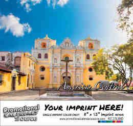 Central America Scenic Calendar - Calendario Escenico de America Central - Bilingual