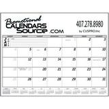 Biz Builder 12-Month Desk Pad Calendar 2018