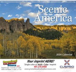 Scenic America Wall Calendar 2018 - Spiral