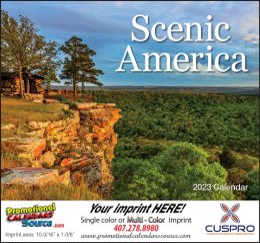 Scenic America Promotional Calendar 2018 - Stapled