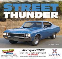 Street Thunder Promotional Wall Calendar 2018 Spiral