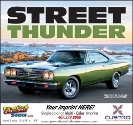 Street Thunder Promotional Calendar 2018 - Stapled