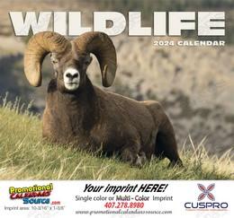Wildlife Promotional Calendar 2018 - Stapled