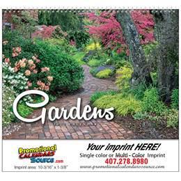 Gardens Wall Calendar 2018 - Spiral