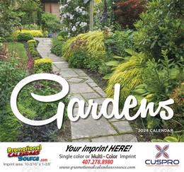 Gardens Promotional Calendar 2018 - Stapled
