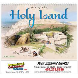Art of the Holy Land- Universal Wall Calendar 2018 - Spiral