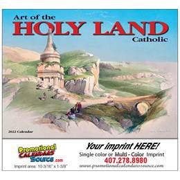 Art of the Holy Land Catholic Promo Calendar 2018 - Stapled
