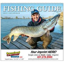 Fisherman s Guide Wall Calendar 2017 - Spiral