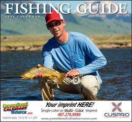 Fisherman's Guide Promotional Calendar 2018 - Stapled