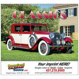 Automotive Classics Wall Calendar 2018 - Spiral