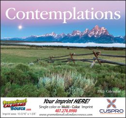 Contemplations Promotional Calendar 2017 Stapled