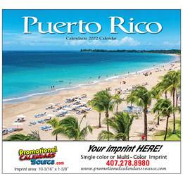 Puerto Rico Promotional Calendar 2017 Stapled