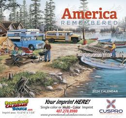 America Remembered Promotional Calendar 2017 Stapled