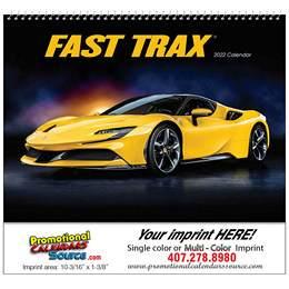 Fast Trax Wall Calendar 2018 - Spiral