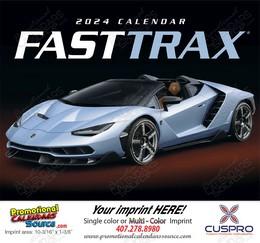 Fast Trax Promotional Calendar 2018 Stapled