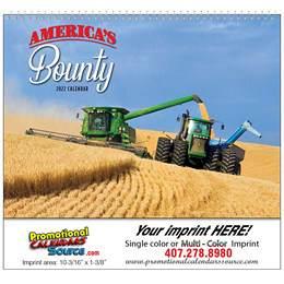 America's Bounty Promotional Wall Calendar 2018 Spiral