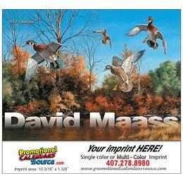 David Maass Promotional Calendar 2018 Stapled