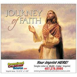Journey of Faith Universal Promotional Calendar 2018 Spiral