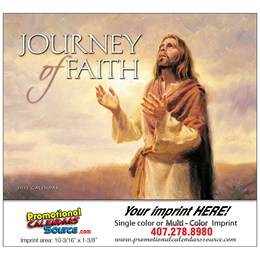 Journey of Faith Universal Promotional Calendar 2018 Stapled