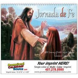 Jornada de Fe Catholic Promotional Calendar 2017 Spiral