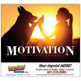 Motivation Promotional Calendar 2017 - Spiral