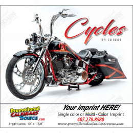 Custom Motorcycles Promotional Calendar 2018 Stapled