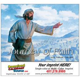 Journey of Faith Catholic Promotional Calendar 2018 Stapled