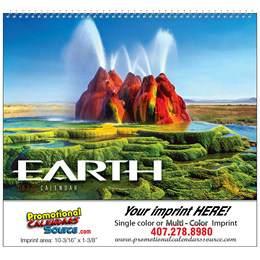Earth Promotional Calendar 2018 - Spiral