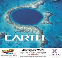 Earth Promotional Calendar 2018 Stapled
