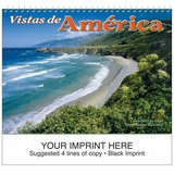 Vistas de America Promotional Calendar 2018 - Spiral