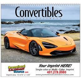Convertible Cruisin Promotional Calendar 2018 - Spiral