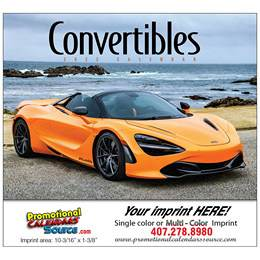 Convertible Cruisin Promotional Calendar 2018 Stapled