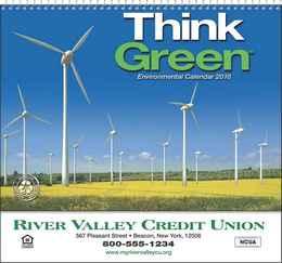 Think Green Promotional Calendar 2018 - Spiral