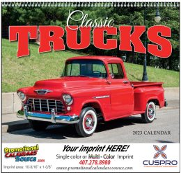 Classic Trucks Promotional Calendar 2018 - Spiral