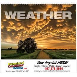 Weather Almanac Promotional Calendar 2018 - Spiral