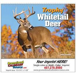 Whitetail Deer Promotional Calendar 2018 - Spiral