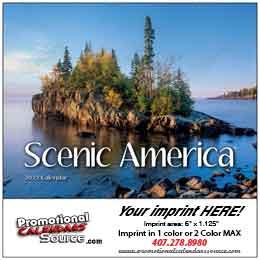 Scenic America Mini Wall Calendar 2018