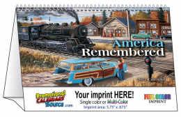 America Remembered Desk Tent Calendar 2018