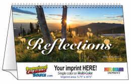 Reflections Promotional Desk Tent Calendar 2018