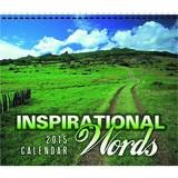 Inspirational Words Promotional Calendar 2017