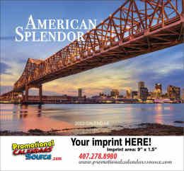 American Splendor Wall Calendar 2018