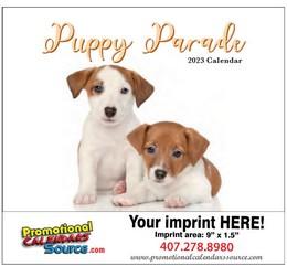 Puppy's Parade 2018 Calendar