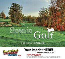 Scenic Golf 2018 Promotional Calendar