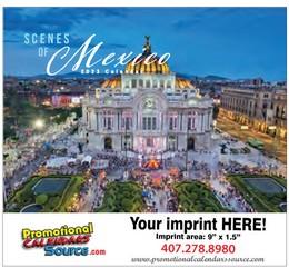 Conozca Mexico - Mini Calendar Almanaque 2018