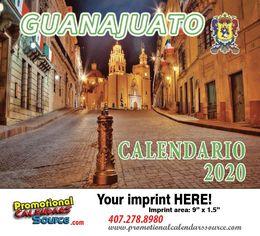 Guanajuato Promotional Calendar 2017 Calendario