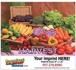 Harvest Promotional Calendar 2018