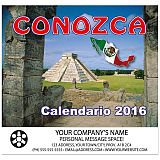 Conozca Mexico - Mini 2016 Promotional Calendar